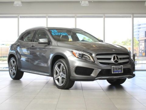 Certified Pre-Owned 2015 Mercedes-Benz GLA 250 Front Wheel Drive SUV