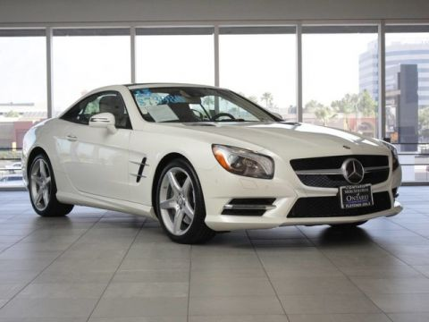 Certified Pre-Owned 2015 Mercedes-Benz SL 400 Rear Wheel Drive Coupe