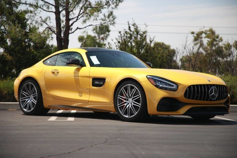 New 2020 Mercedes Benz Amg Gt C Rear Wheel Drive Coupe