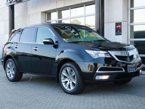 Pre-Owned 2013 Acura MDX Advance/Entertainment Pkg