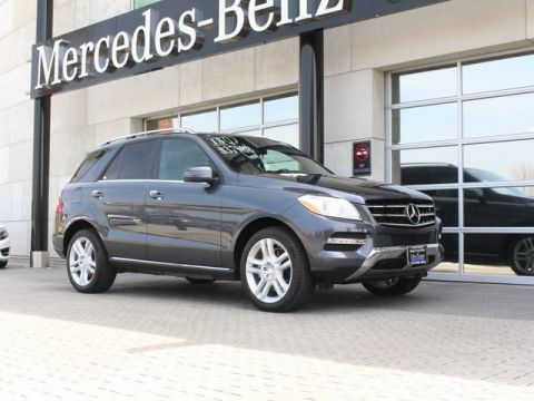 Certified Pre-Owned 2015 Mercedes-Benz ML 350 Sedan