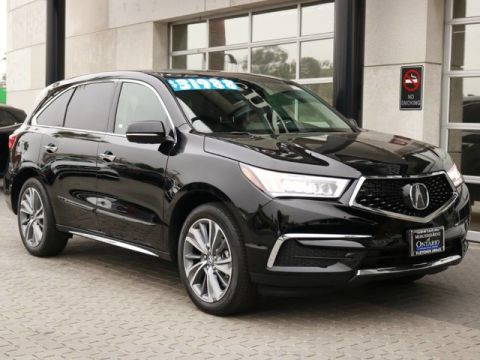 Pre-Owned 2017 Acura MDX w/Technology Pkg