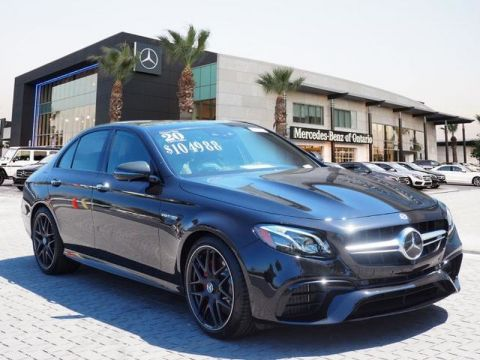 Certified Pre-Owned 2020 Mercedes-Benz E-Class AMG® E 63 S