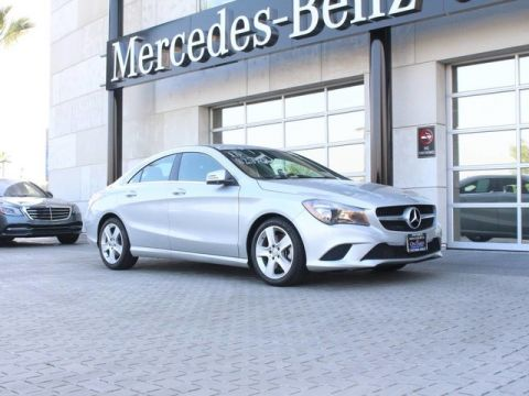 Certified Pre-Owned 2015 Mercedes-Benz CLA 250 Coupe