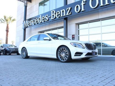 Certified Pre-Owned 2016 Mercedes-Benz S 550 Sedan